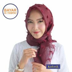 Kadonik Jilbab / Hijab / Kerudung Rubiah Square Premium