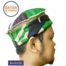 Kadonik Peci / Songkok / Topi / Surban Sholat Type Tentara Indonesia
