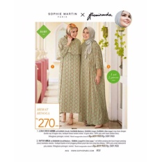 Kaftan ABILA - Gamis Long Dress Hijab Muslim - Sophie Paris by Riamiranda