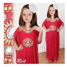 Spesifikasi Kaftan Eliza Kid Red Merk Up2Date