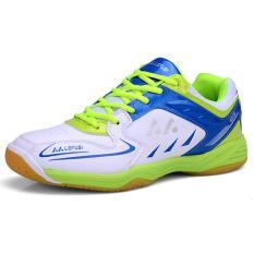 Top 10 Kailijie Pelatihan Olahraga Pria Sh A1 Sepatu Bulutangkis Profesional Hijau Online