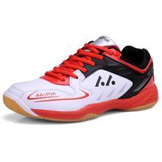 Toko Kailijie Pelatihan Olahraga Pria Sh A1 Sepatu Bulutangkis Profesional Merah Terdekat