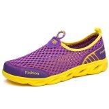 Daftar Harga Kailijie Wanita Berlubang Mesh Outdoor Water Shoes Pecinta Sandal Ungu Intl Kailijie