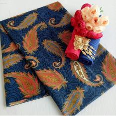 Kain Batik Embos A.072 Biru