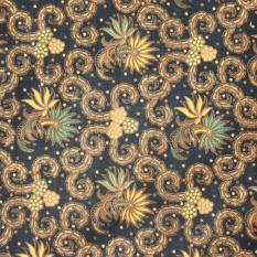 Kain Batik halus dua meteran, Bahan Batik untuk Kemeja, Blus, Kebaya dsb. Batik ASLI buatan tangan (KBK001-24) Batikalhadi Online