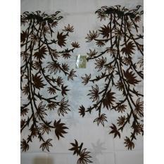 Kain Batik Motif Bambu Putih Setelan Kebaya Wanita Seragaman Pernikahan Grosir Jarik Jogja Murah Primisima Cap Cent Halus