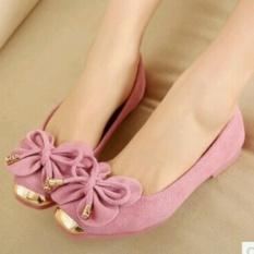 KAISAR-Flat Shoes Kupu-Kupu [PINK]