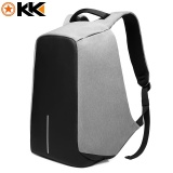 Jual Kaka Anti Theft 15 6 Inch Laptop Notebook Ransel Tahan Air Perjalanan Casing Sekolah Tas Pria Bisnis Backpack Grey Intl Kaka Grosir