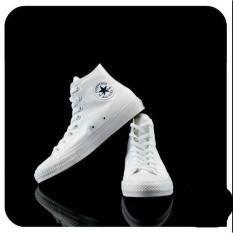KAKIKU SPORT - Sepatu Sneakers ALL STAR Canvas LowCut Unisex - Full white