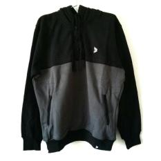 Beli Kalibre 970040 Pullover Jaket Hoodie Pria Men Sweater Outdoor Outerwear Hitam Abu Pakai Kartu Kredit