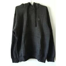 Jual Kalibre 970049 Pullover Jaket Hoodie Pria Men Sweater Outdoor Outerwear Abu Tua Original