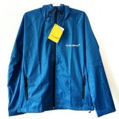 Jual Kalibre Edge 01 Biru Cerah Blue Jaket Hoodie Outdoor Gunung Anti Air Waterproof Water Resistant Windbreaker Running Jacket Run Jaket Lari 970150 440 Antik