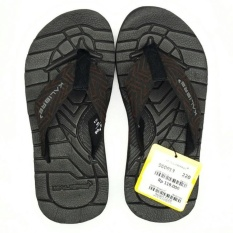 Kalibre Flexion Sandal Jepit Sandal Gunung Outdoor Adventure Slipper Flip-Flops Footwear Coklat Brown 960013-220