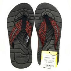 Kalibre Flexion Sandal Jepit Sandal Gunung Outdoor Adventure Slipper Flip-Flops Footwear Merah Brick 960013-200