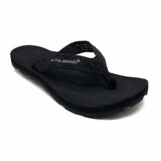 Kalibre Metronome 02 Sandal Jepit Gunung Outdoor Adventure Slipper Flip-Flops Hitam Polos 960012-000