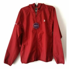 Kalibre Vertex 1.2 Jaket Hoodie Outdoor Gunung Anti Air Waterproof Water Resistant Merah Red Windbreaker Jacket Outerwear 970142-660 Natal Imlek