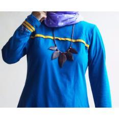 [Buy 1 Get 1]  Ardilla Kalung Etnik Nanda / Aksesoris Kalung Wanita Cewek / Asesoris Kalung Fashion Wanita Cewe / Kalung Kayu