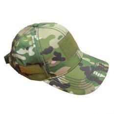 KamoGears Topi Loreng Velcro Army TP-30