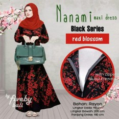 Kampung Souvenir Gamis Nanami Black Series