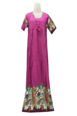 Kampung Souvenir - Long Dress Mano - Magenta Ethnic