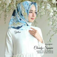 Beli Kananta Hijab Segi Empat Motif Jilbab Segi Empat Motif Kerudung Segi Empat Motif Square K Cloudi Secara Angsuran