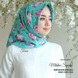 Review Kananta Hijab Segiempat Motif Jilbab Segiempat Motif Bunga Kerudung Segiempat Motif Bunga Square K Mikha Bahan Kain Katun Jepang Halus