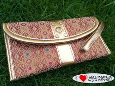 kanaya - dompet wanita murah clutch motif songket endek rang rang dompet tangan simple oleh oleh khas bali