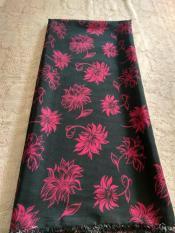 kanaya - kain satin batik songket endek bali lembaran  uk. 2mtr*1,15mtr bahan dress kemeja rok baju