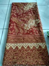 kanaya - kain satin batik songket endek bali lembaran uk. 2mtr*1.15mtr bahan kain dress kemeja rok celana seragaman
