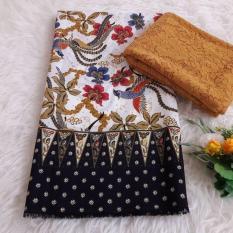 kanaya - setelan kain satin batik milea ukuran 2mtr *1,15mtr dan brokat lembaran ukuran 1.5 mtr kebaya bali murah bahan kebaya pesta kebaya wisuda kebaya kutubaru