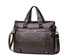 Harga Kangaroo Leather Tote Bag Cross Bisnis Tas Bahu Tas Kulit Tas Messenger Pria Tas Global Stationlight Brown Intl Oem