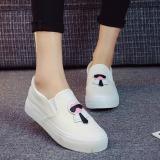Berapa Harga Kanvas Sepatu Kasual Sejuk Siswa Putih Di Tiongkok
