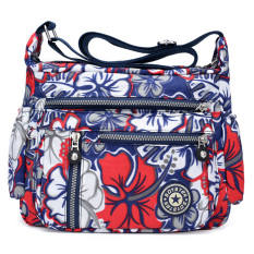 Spesifikasi Kanvas Waterproof Nilon Setengah Baya Ibu Tas Tas Bahu Messenger Bag Icing Pada Kue Online