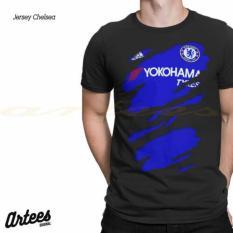 Harga Kaos 3D Bola Jersey Chelsea T Shirt 3D Bola Chelsea Murah