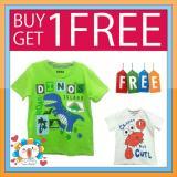 Jual Kaos Anak Karakter Ge 02 Buy 1 Get 1 Free Jawa Barat