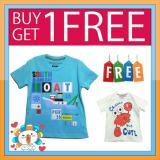 Spesifikasi Kaos Anak Karakter Ge 03 Buy 1 Get 1 Free Terbaru