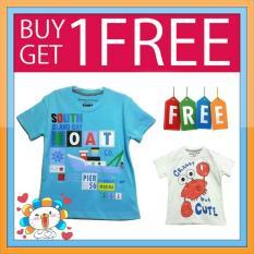 Kaos Anak Karakter Ge 03 Buy 1 Get 1 Free Original