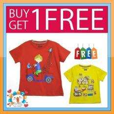 Kaos Anak Karakter Ge 04 Buy 1 Get 1 Free Jawa Barat Diskon 50