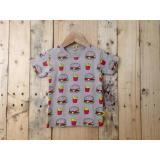 Harga Kaos Anak Karakter Tshirt Bayi Lucu Burger Lengkap