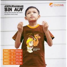 Kaos Anak Muslim Abdurrahman Bin Auf Chalifakids