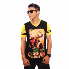 Jual Kaos Anime Game Clash Of Clans Coc Import