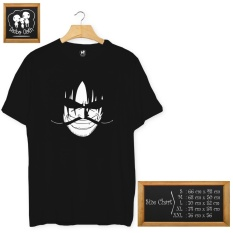 Tips Beli Kaos Anime One Piece Roger Cottn Combed 30S Hitam Yang Bagus