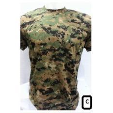 KAOS ARMY loreng camo militer