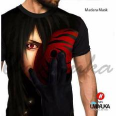 Beli Kaos Baju Distro Anime Fullprint Premium Naruto Madara Mask Seken