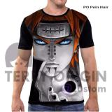 Review Toko Kaos Baju Distro Anime Naruto Fullprint Premium Pain Hair Online