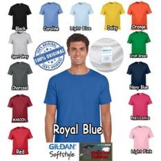 Kaos Baju Gildan Softstyle Colour 63000 warna PROMO!!!