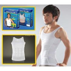 Kaos Baju Pembentuk Perut Six Pack - Pengecil Buncit / Gendut / Gemuk