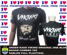 Kaos Baju Persib Original One Blue Viking Warna Hitam C Limited