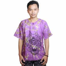 Kaos Bali Batik, Kaos Santai, Baju Tidur, Atasan Pria, Atasan Wanita (KPT001-23)BatikAlhadi Online