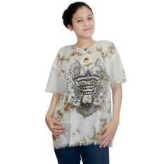 Kaos Bali Batik, Kaos Santai, Baju Tidur, Atasan Wanita (KPT001-10) Batik Alhadi